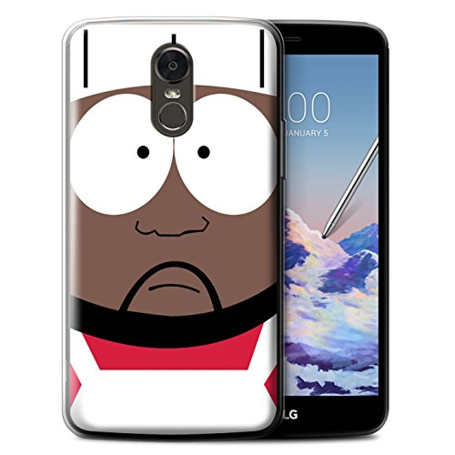 STUFF4 Gel TPU Phone Case/Cover for LG Stylus 3/Stylo 3/K10 Pro/Chef Design/Funny South Park Inspired Collection