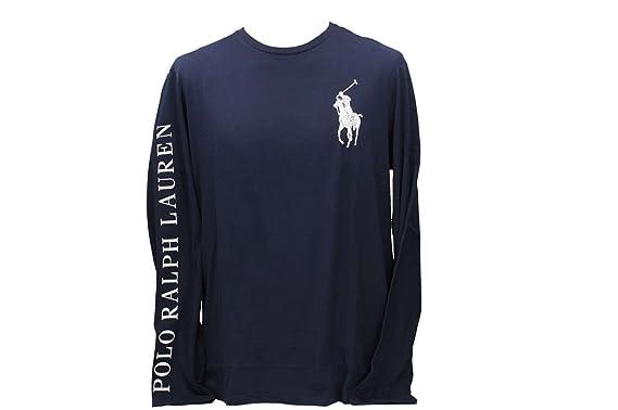 Polo Ralph Lauren 710693642002 Camiseta Hombre Azul M: Amazon.es ...