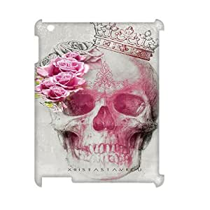 skull 3D-Printed ZLB816618 Personalized 3D Cover Case for Ipad 2,3,4