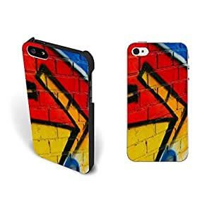 New Colorful Painting Arrows Case For Ipod Touch 4 Cover Hipster Bright Personalized Custom Design Hard Plastic Case For Ipod Touch 4 Cover Case Skin Screen Protector.