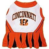 Cincinnati Bengals Pet Cheerleader Dress, Medium, My Pet Supplies