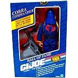 "G I JOE COBRA COMMANDER- 12"" Figure Hall of Fame 1991 Electric Sound & Weapon"