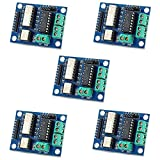 Optimus Electric 5pcs Opto-Isolated Motor Driver Module with L293 Driver Chip and Two H-Bridges for Driving DC and Stepper Motors from