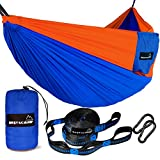 Deluxe double camping hammock for kayaking, canoeing, and camper. It is also suitable for installation on the beach and backyard including a picnic. With our hammok, you can travel even where only owls and bears live. If you need camping supplies or ...