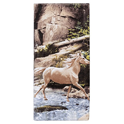 [Creative Bath Products Horse Canyon Bath Towel] (Creative Cow Costumes)