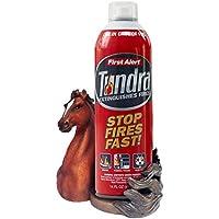 FitSand Horse Crafted Statue Stand Guard Station Holder for First Alert AF400 Tundra Fire Extinguisher Aerosol Spray - BFF for AF400