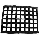 "Allstar ALL10285 Black 18"" High x 24"" Wide Rectangular Border Style Mount Ribbon Window Net"