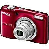 Nikon Coolpix L29 16.1 MP Point and Shoot Camera with 5x Optical Zoom (Red) (Certified Refurbished)