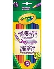 Crayola 12 Watercolour Pencils Arts & Crafts