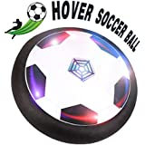 Rolytoy Kids Toys, Hover Ball Soccer Toys Ages of 2-16 Years Old, Air Power Soccer with Powerful LED Light Size 4 Boys Girls Sport Children Toys Training Football for Indoor Outdoor with Parents Game