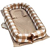 Baby Travel Bed, Portable Folding Lightweight Baby Cots...