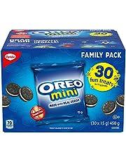 Oreo Mini Fun Treats Cookies, Back to School Snacks, 450g