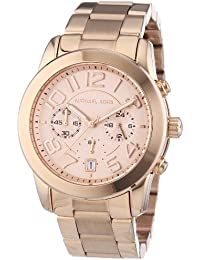 MK5727 Women's Mercer Rose Gold-Tone Stainless Steel...