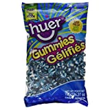 Huer Bulk Small Blue Raspberry Swirls-Not Sour x1kg, 1.00-Kilogram