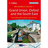 Collins/Nicholson Waterways Guides (1)- Grand Union Oxford & The South East
