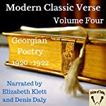 Modern Classic Verse: Volume 4 - Georgian Poetry 1920 - 1922 | Denis Daly,Elizabeth Klett