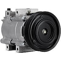 SucceBuy AC Compressor For Hyundai Santa FE AC Compressor Clutch Fit For 2.4L Air Conditioning Compressor 2001-2004