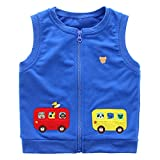 LittleSpring Toddler Boys Lightweight Fall Vest