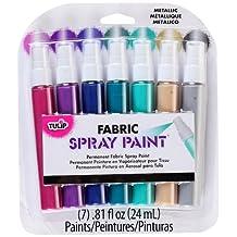 Tulip 31535 Fabric Spray Sets, 7-Pack, Metallic