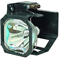 AuraBeam Economy Mitsubishi 915P043010 Television Replacement Lamp with Housing