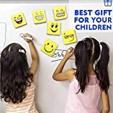 6 Pack Magnetic Smiley Face Dry Whiteboard