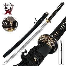Ace Martial Arts Supply Classic Handmade Samurai Katana Sharp Sword-Musha