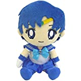 Bandai Sailor Moon Mini Plush Cushion 7-Inch Mercury