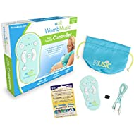 Wusic Womb Music Controller Pack - Compatible with Pregnancy Belly Speakers for Pregnant Women - Bluetooth Audio Connection - Bond with Baby - Play Soothing Music and Sounds - Baby Shower Gift Idea