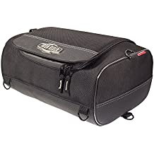 Iron Rider By Dowco - Motorcycle Roll Bag - 2 Year Limited Warranty - Reflective - Water Resistant - Small - Black - Up To 15L Capacity [ 50127-00 ]