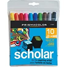 Sanford 130305 Prismacolor Scholar Bullet Marker 10-Pkg- by SANFORD