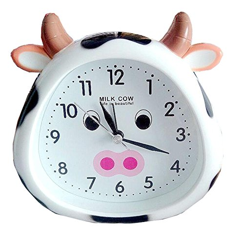 Wake Up Alarm Clock Kids Gifts Cute Milk Cow (Alarm Kids Cow Clock)