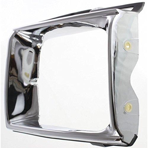 Diften 630-A0214-X01 - New Headlight Door/Bezel Chrome Truck Passenger Right Side TO2513113 5313189121