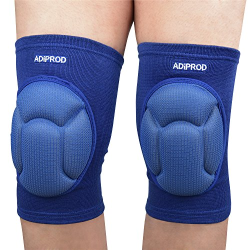 Infield Protector - Knee Pads , ADiPROD (1Pair) Thick Sponge Collision Avoidance Kneeling Kneepad Outdoor Climbing Sports Riding Protector Protection (Blue)