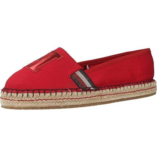 Alpargatas para Mujer, Color Blanco, Marca TOMMY HILFIGER, Modelo Alpargatas para Mujer TOMMY HILFIGER FW0FW03846 Blanco: Amazon.es: Zapatos y complementos