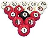 Wave 7 Technologies Florida State Billiard Ball Set - NUMBERED