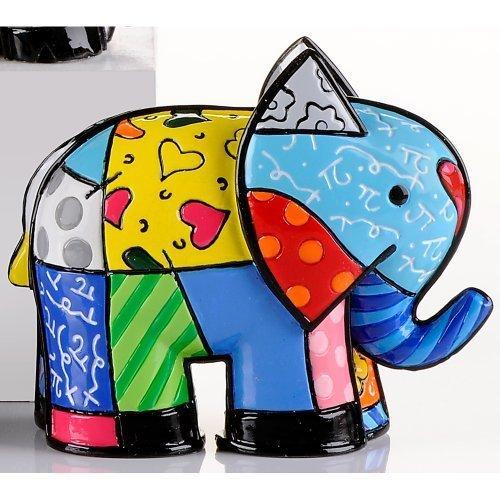 Romero Britto Mini Elephant, India 2012 Edition by giftcraft