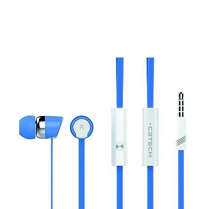 Fone de Ouvido Intra-auricular Spirit Azul C3 Tech Ep-103wbl