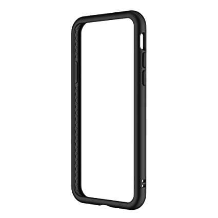 outlet store 4cd94 634b0 RhinoShield Crashguard Bumper Case/Cover for iPhone X- Black