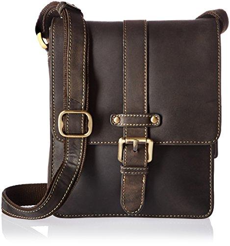 Visconti 16113 Cross Body Bag, Oil Brown by Visconti