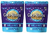Wonderfully Raw - Organic Coco-Roons - Vanilla Maple Flavor- 6.2 Ounces (Pack of 2)