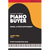 Piano Buyer Model & Price Supplement / Spring 2020