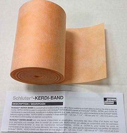 "~1 ROLL//PACK~ Schluter Kerdi-Band 5/"" x 16/' 5/"" Brand New Unopened Waterproofing"