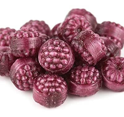 Red Raspberries, Filled Hard Candy, Yankee Traders Brand, 2 Lbs