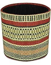 "Planter Basket Modern Woven Basket for 10"" Flower Pot Floor Indoor Planters, 12"" x 12"" Storage Organizer Basket Rustic Home Decor, Boho Chic Storage Earth-Friendly Cotton ECO-Twist Planter"