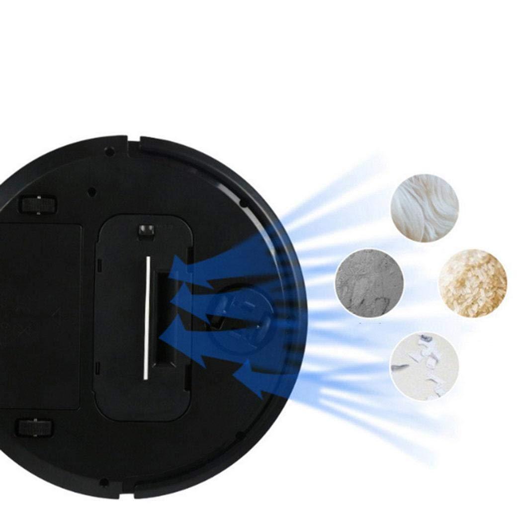 Kloius Robot Aspirador Barrendero Automático Robot Limpieza de Pisos en el Hogar Robot de Barrido Inteligente: Amazon.es: Hogar