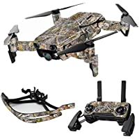 MightySkins Skin for DJI Mavic Air Drone - Kanati | Max Combo Protective, Durable, and Unique Vinyl Decal wrap cover | Easy To Apply, Remove, and Change Styles | Made in the USA