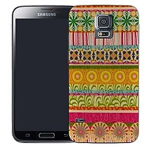 Pictoral carcasa de silicona y TPU funda de silicona para Samsung Galaxy S5Mini–Encuentro