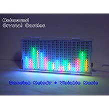 Nobsound 1216 Crystal Castles Music Spectrum Audio Spectrum LED Level Meter Display for Audio System
