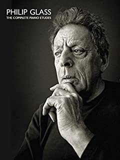 Book Cover: Philip Glass: Complete Etudes for Piano