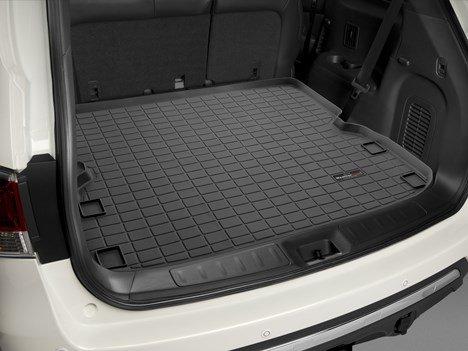 2013 - 2014 Nissan Pathfinder (Behind 2nd Row Seating) - WeatherTech Custom CARGO TRUNK Liners - Black